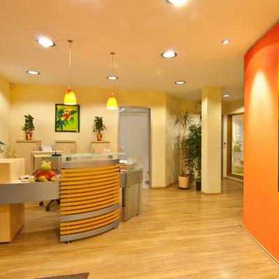 Eingangsbereich Zahnarztpraxis Dr. Erler